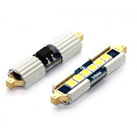 LED Leuchtmittel 3030 SMD Gold CAN-Bus Soffitte 42mm