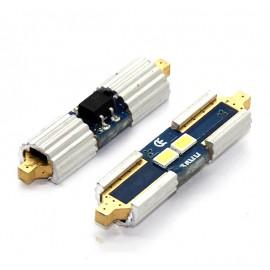 LED Leuchtmittel 3632 SMD Gold CAN-Bus Soffitte 42mm