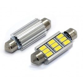 LED Leuchtmittel 9x 5730SMD CAN-Bus Soffitte 42mm
