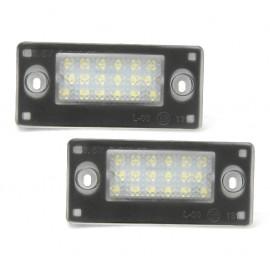 LED Kennzeichenbeleuchtung Modul Audi A3 S3 A4 S4 RS4