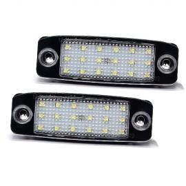 LED Kennzeichenbeleuchtung Renault Clio Languna Master Megane Twingo Vel Santis