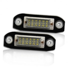 LED Kennzeichenbeleuchtung Modul Volvo C70 S40 S40 S80 V50 V60 V70 XC60 XC70 XC90