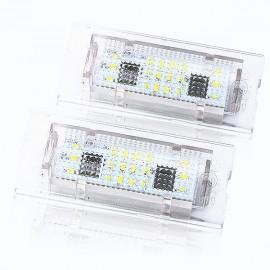 LED Kennzeichenbeleuchtung Modul BMW X3 X5