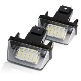 LED Kennzeichenbeleuchtung Modul Citroen Berlingo C3 C4 C5 Saxo Xsara
