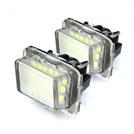 LED Kennzeichenbeleuchtung Module Mercedes-Benz C-Klasse CL-Klasse CLS E-Klasse S-Klasse SL
