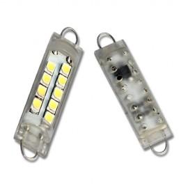 LED Leuchtmittel 9x 1210SMD Rigid Loop Festoon 44mm