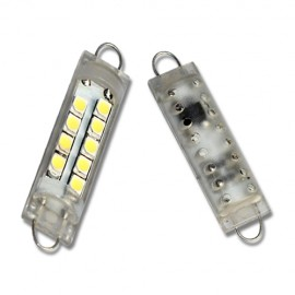 LED Leuchtmittel 9x 1210SMD Rigid Loop Festoon 44mm