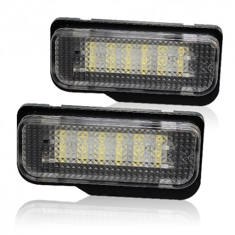 LED Kennzeichenbeleuchtung Module Mercedes-Benz C-Klasse, CLS, E-Klasse, SLK