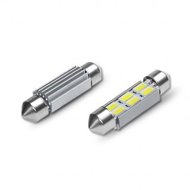 LED Leuchtmittel 6x 5630SMD CAN-Bus Soffitte 39mm