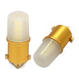 LED Leuchtmittel 3014 SMD Gold CAN-Bus Ba9s