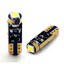 LED Leuchtmittel 3030 SMD Gold CAN-Bus T5